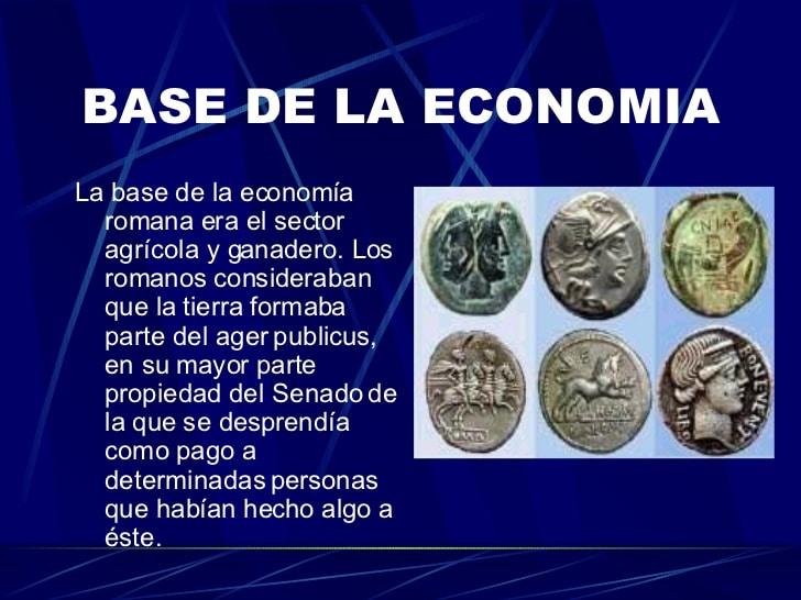 Economía de la Cultura Romana: