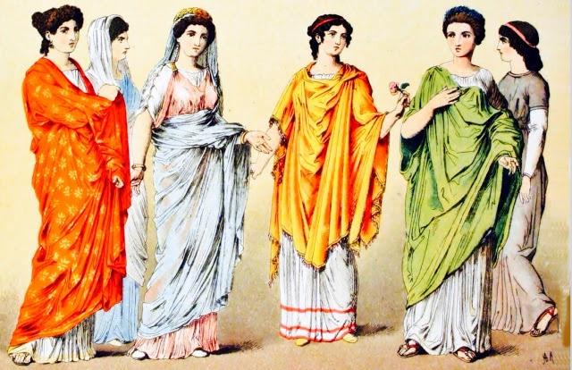 Vestimenta de la Cultura Romana: