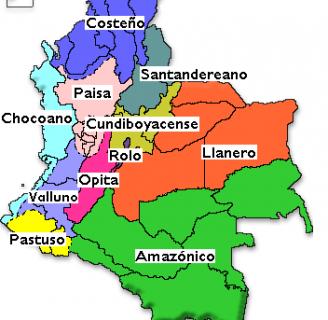 Regiones culturales de Colombia:todo lo que necesita saber