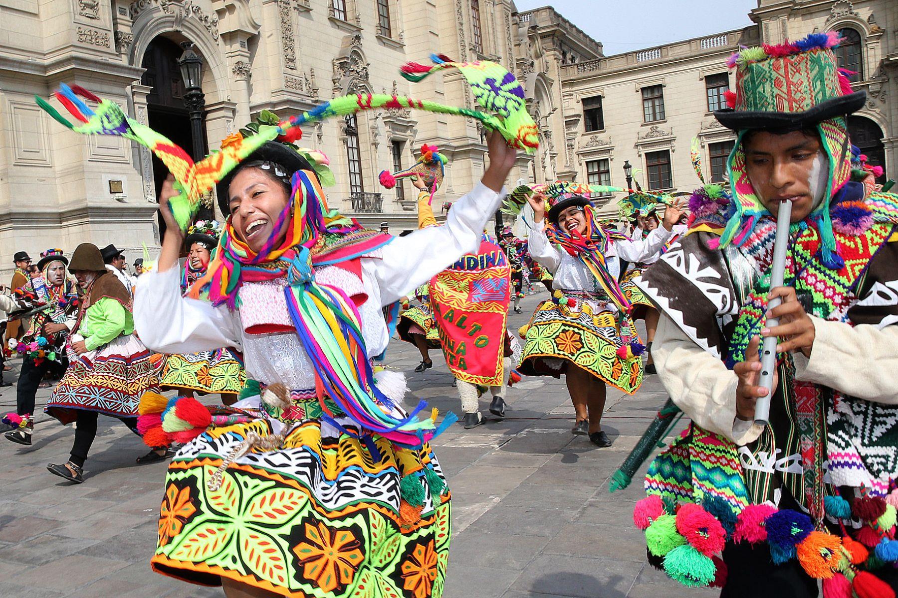 Carnaval ayacuchano la historia