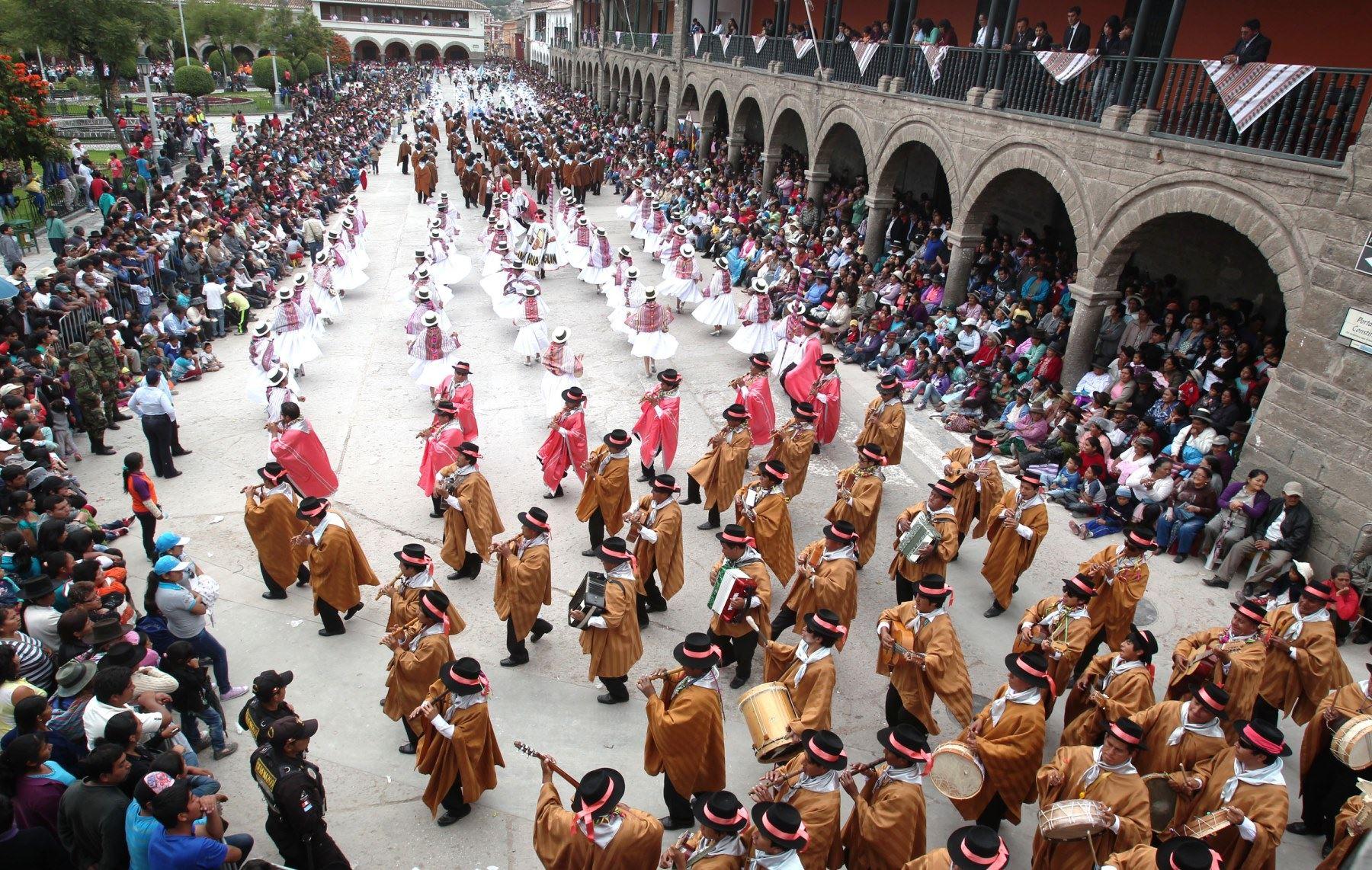 Carnaval ayacuchano origenes