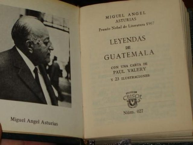 leyendas de Guatemala de Miguel Ángel Asturias