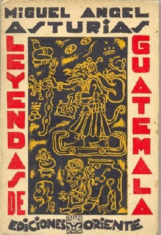 libro leyendas de Guatemala