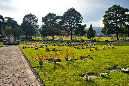 cementerio de las leyendas de Guatemala