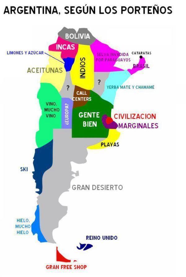 Pueblos originarios de Argentina zonas