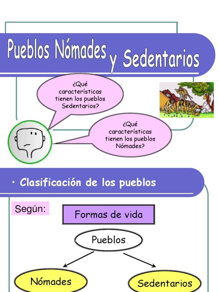 Pueblos originarios de Argentina Nomades y Sementarios: