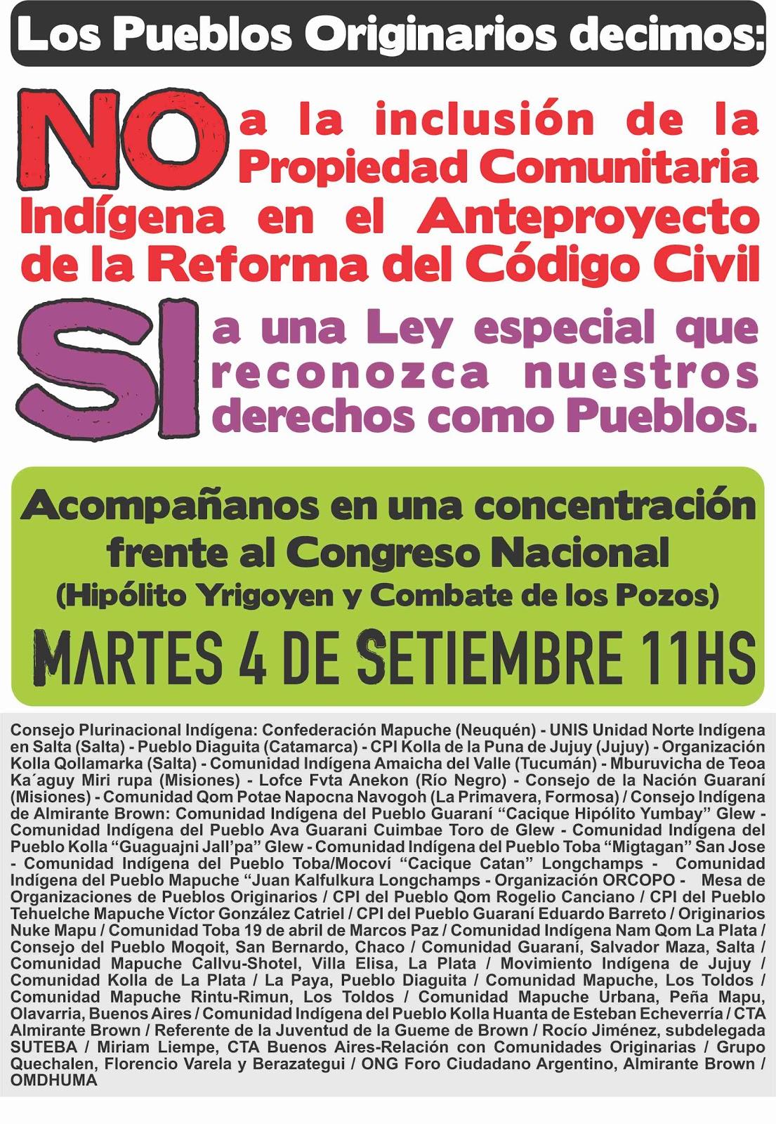 Pueblos originarios de Argentina Derechos: