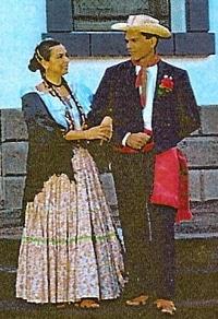 traje tipico de Costa Rica para hombres