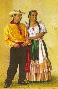 traje de Costa Rica