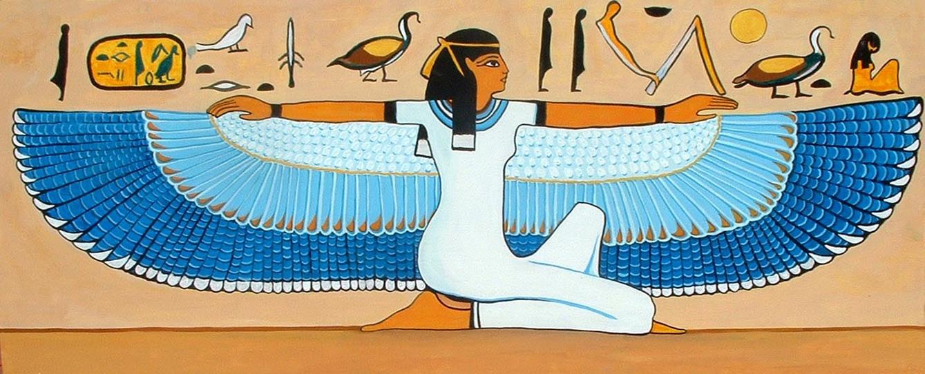 Pintura del Arte Egipcio:
