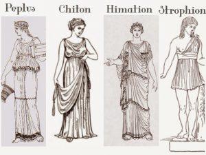 Vestimenta de la Cultura Griega: