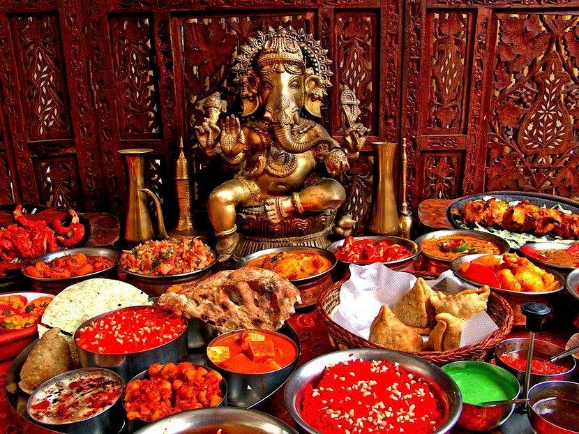 Comida de la Cultura India: