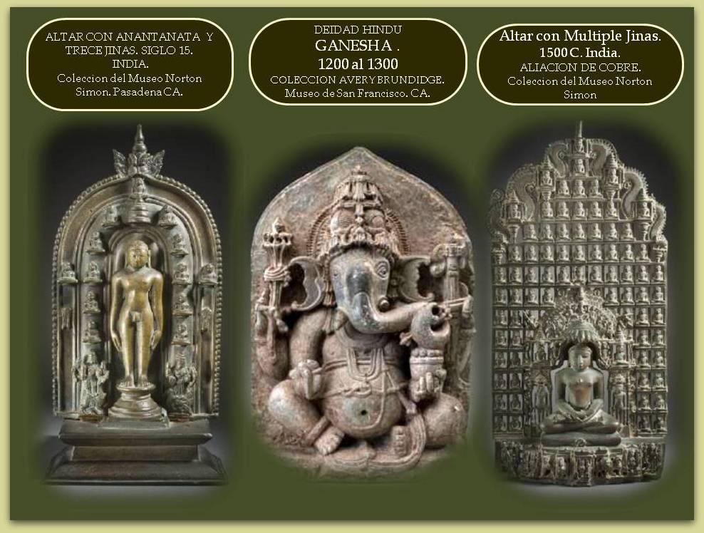 Escultura de la Cultura India: