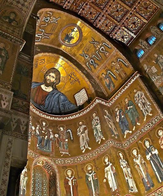 interior iglesia bizantina