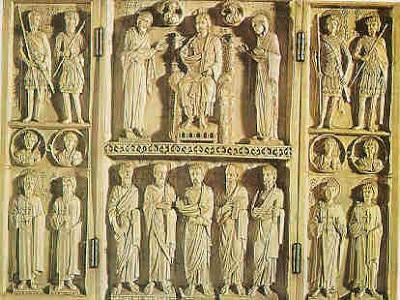 escultura arte bizantino