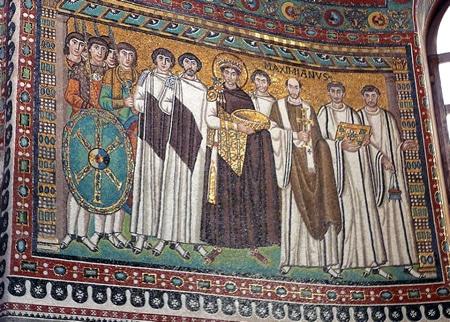 justiniano pintura bizantina