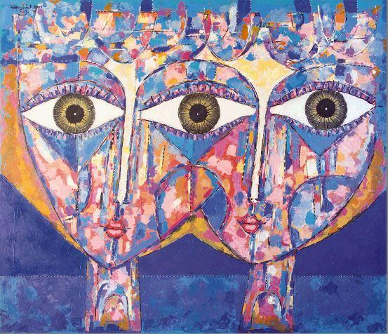 pintura proveniente del arte contemporaneo