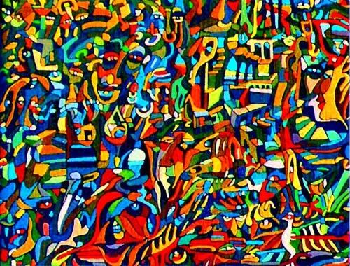 arte contemporaneo abstracto