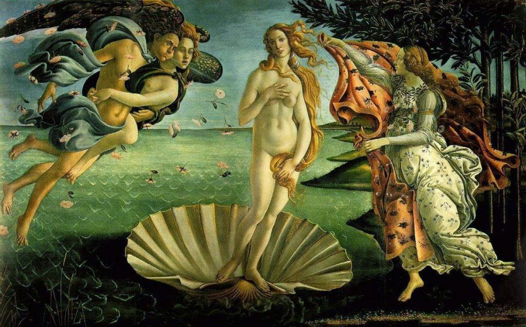 nacimiento de venus arte renacentista