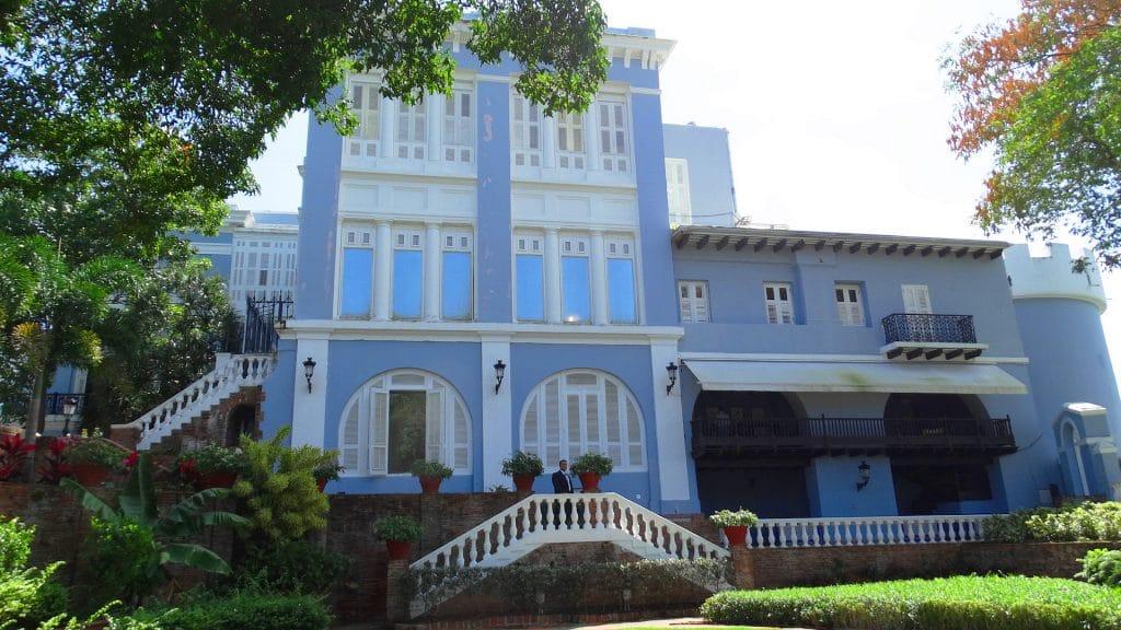 Palacio de Santa Catalina patrimonio de la cultura de puerto rico