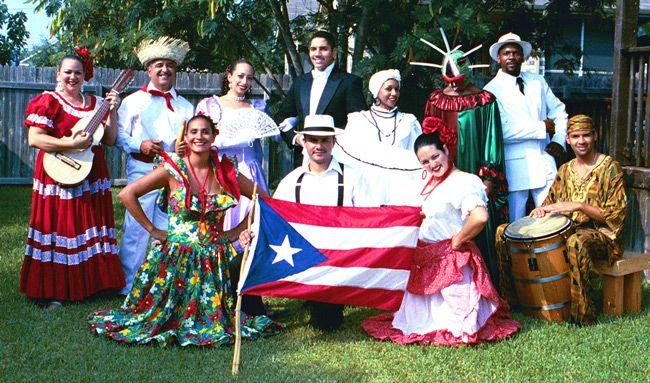 bailes de la cultura de Puerto Rico