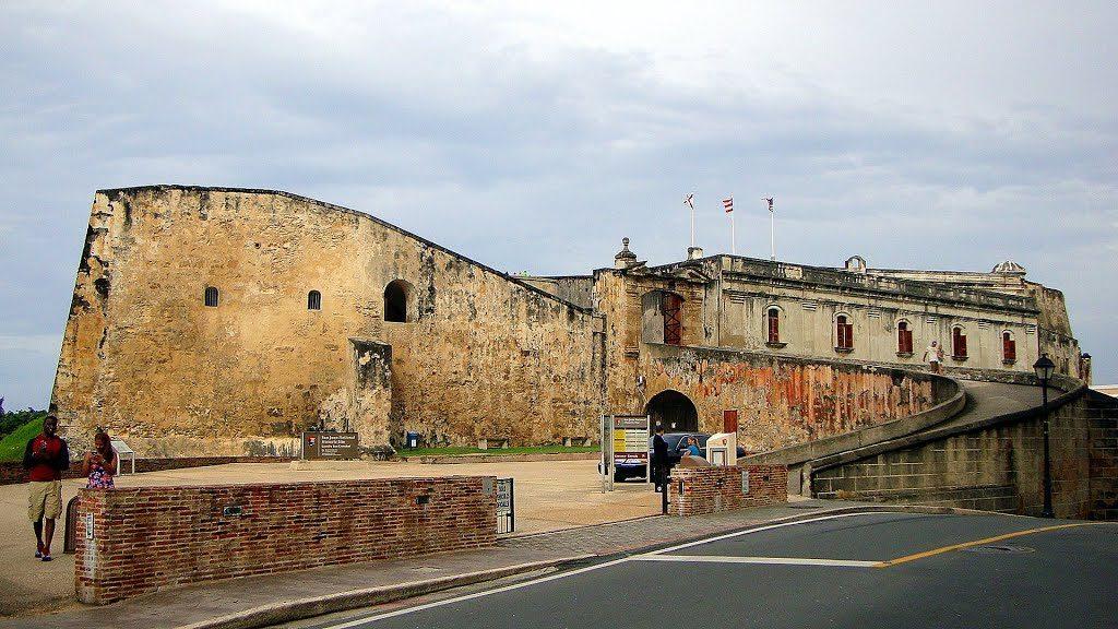 Castillo de San Cristóbal patrimonio de la cultura de puerto rico