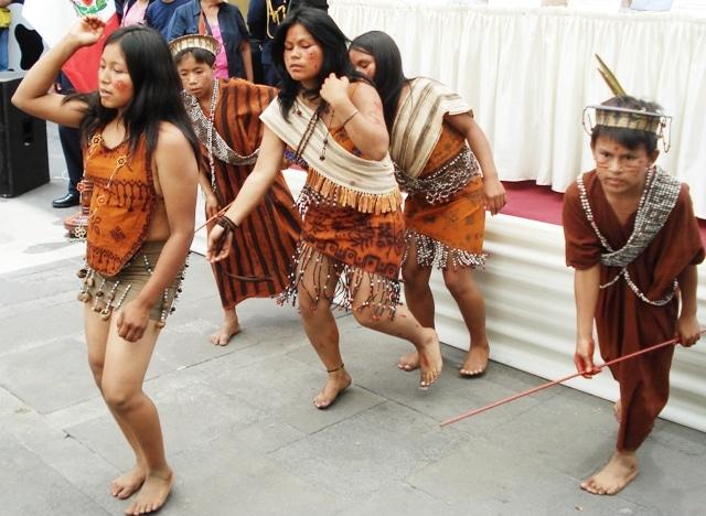 danzas selvaticas en Perú