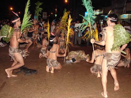 danza de la selva adoración a los dioses