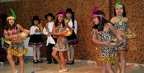 danzas de la selva en escena