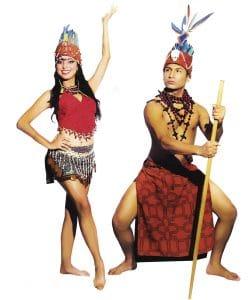 características de la danza de la selva