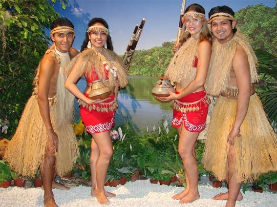 que son las danzas de la selva