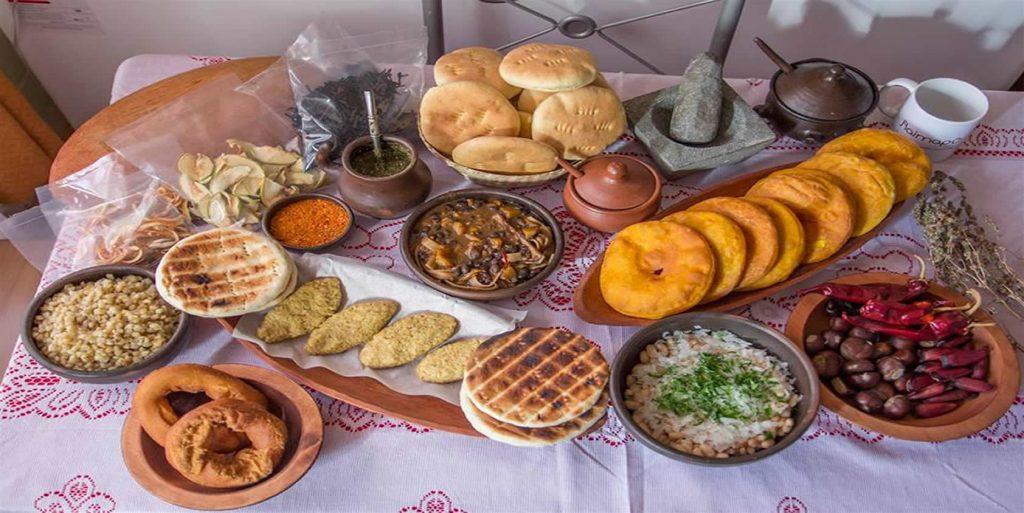 mapuche comida