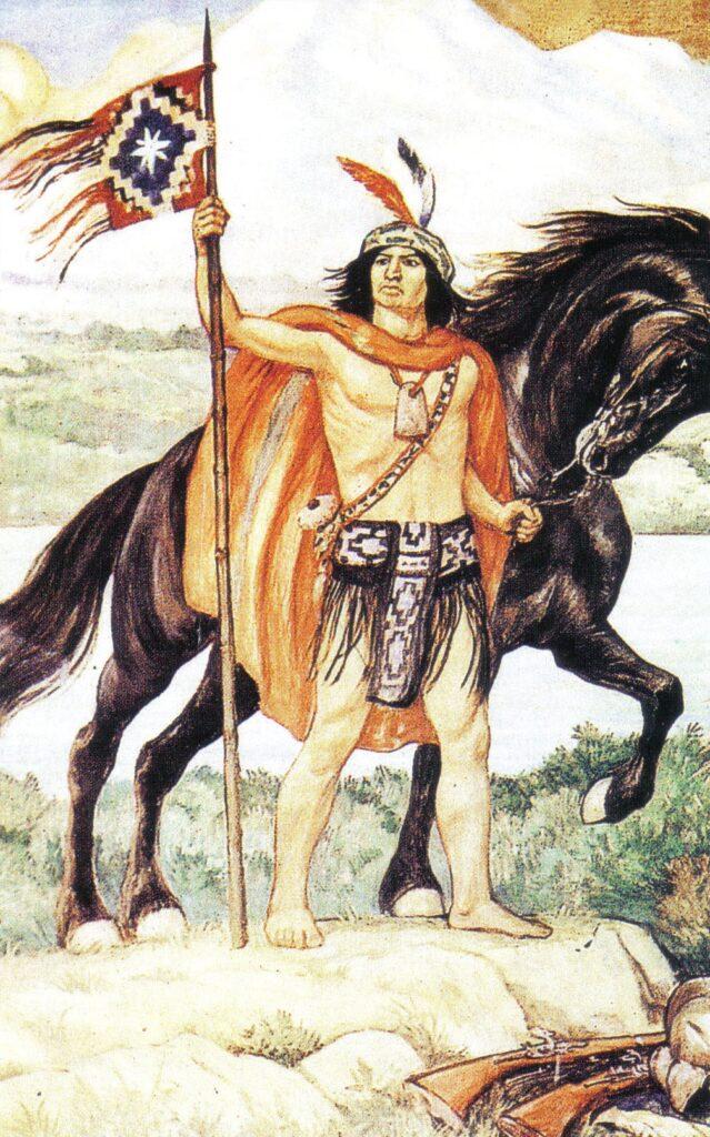 mapuche guerrero
