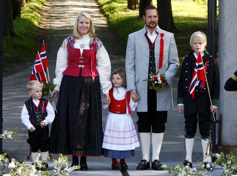 Traje típico de Noruega
