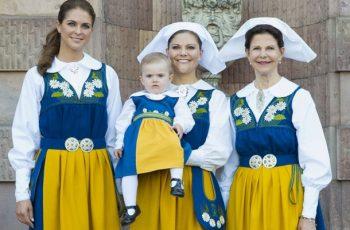 vestimenta de suecia