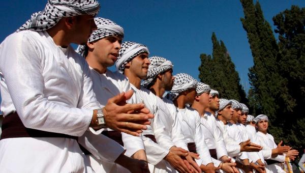 folclore de palestina