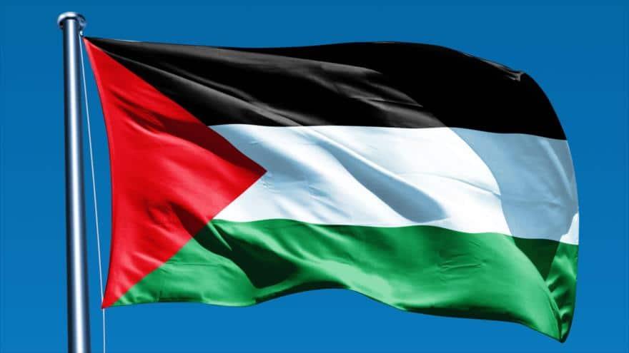 bandera de la cultura palestina