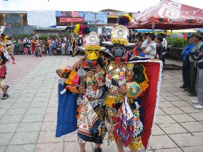 vestuario para la danza de los toritos Guatemala