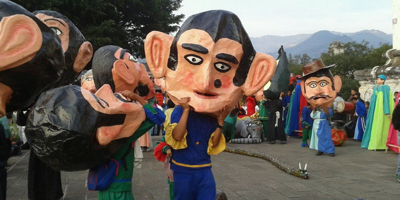 danzas de Guatemala de los cabezones