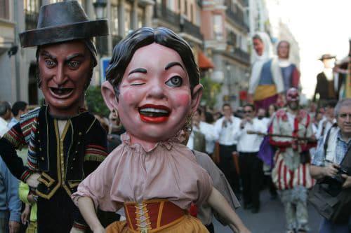 danza de los gigantes Guatemala
