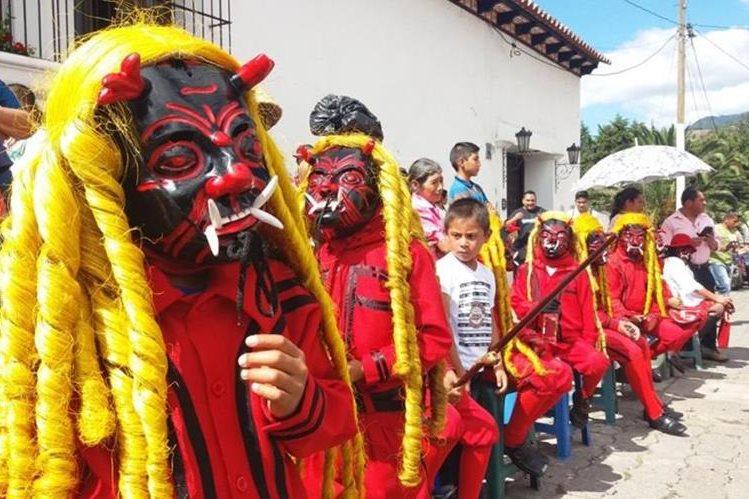 danzas de Guatemala Los diablos