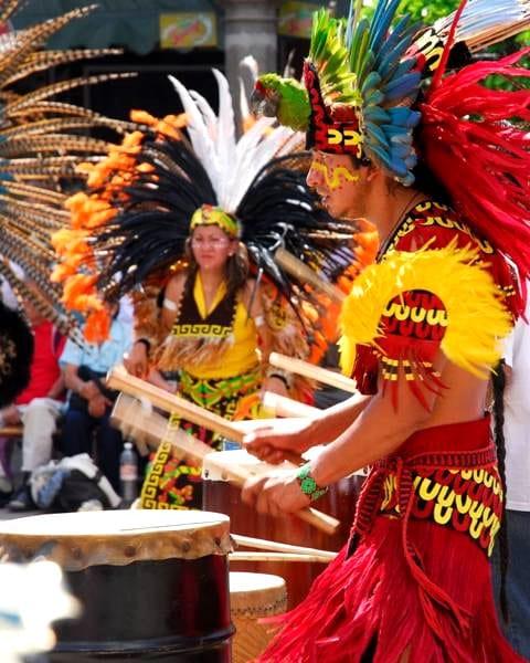 música de las danzas de Guatemala