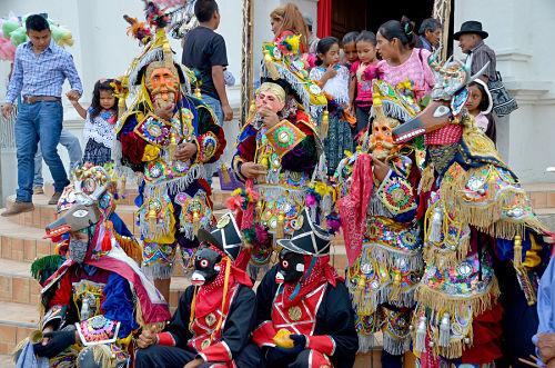 danzas folclóricas de Guatemala