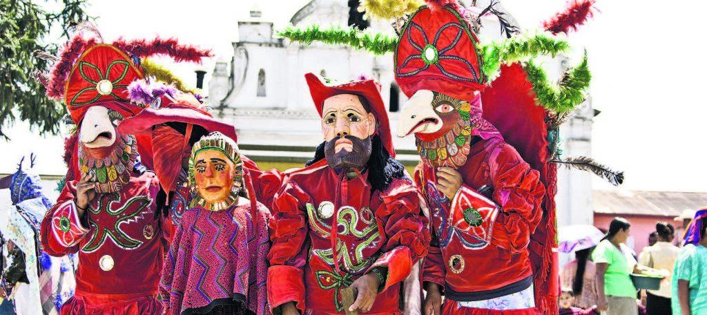 danzas de Guatemala los guacamayos