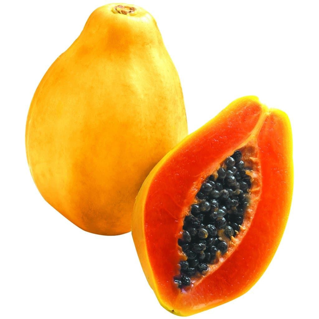 las semillas de papaya