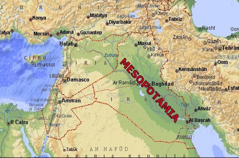 agricultura en mesopotamia