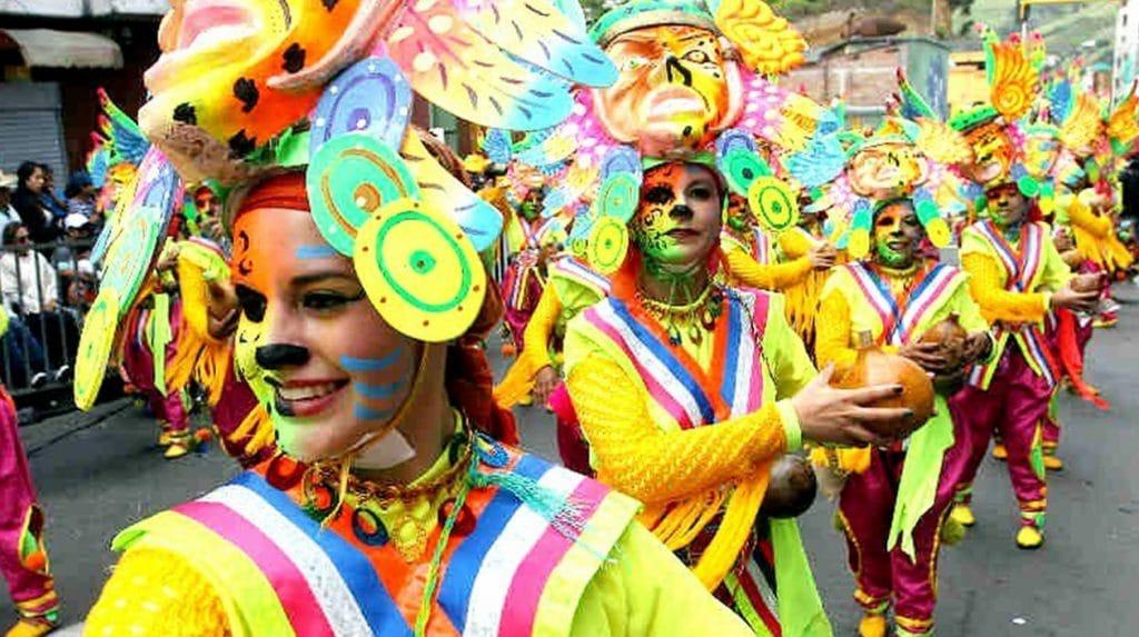 carnavales de colombia