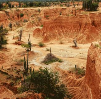 Descubre todo sobre los desiertos de Colombia, su origen y características