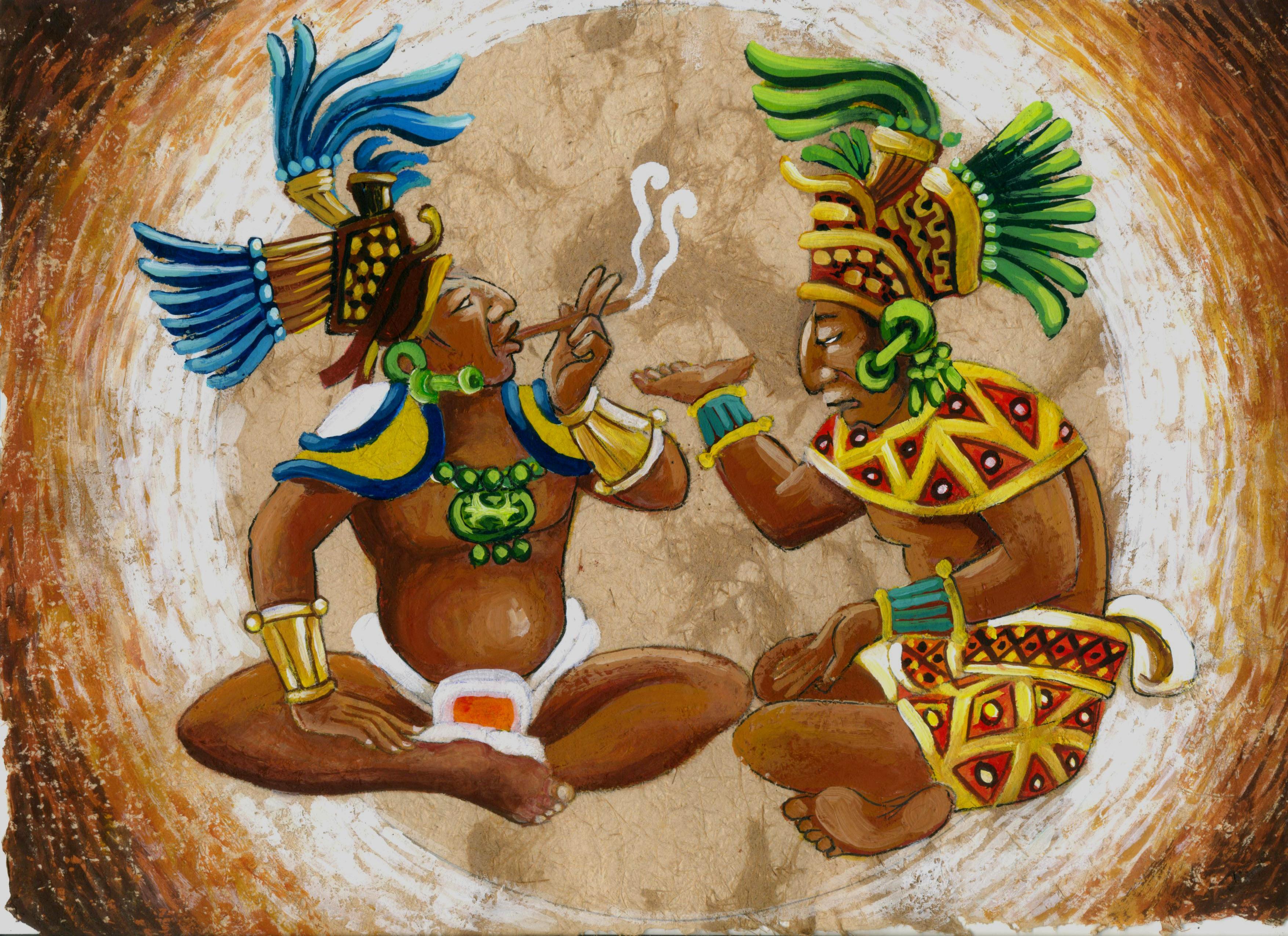 pinturas mayas 1