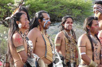 vestimenta de los Chichimecas